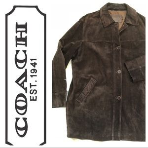 🆕Coach Suede Jacket High Quality